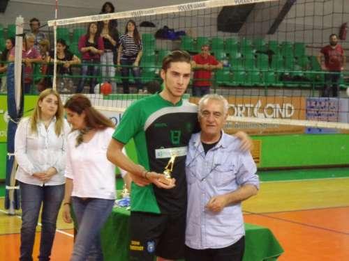 MVP και καλύτερος επιθετικός ο Σπυριούνης: «Ηταν αγώνας καριέρας»