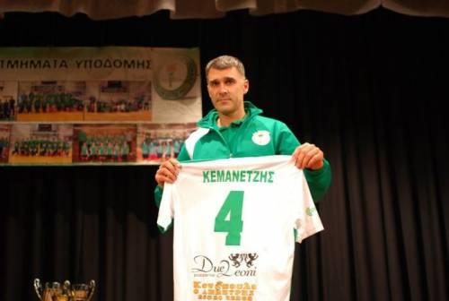 Κεμανετζής: «Γεμάτος που κατάφερα να ανεβάσω την ομάδα ξανά στην Α1»
