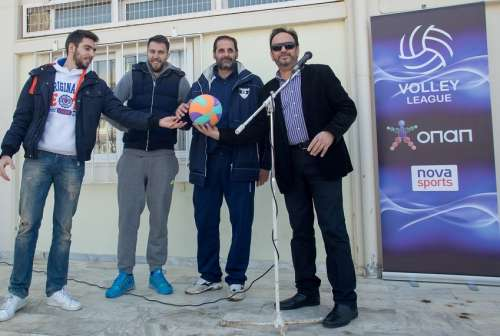 Το δώρο της Volley League και του Εθνικού