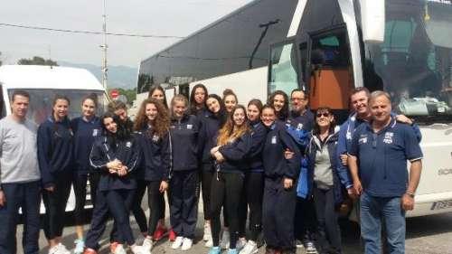 Η αποστολή της Εθνικής Νεανίδων και αναχώρηση για Σερβία