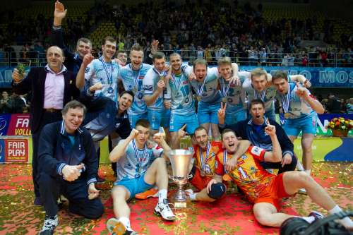 «Χρυσή» κούπα για την Ντιναμό Μόσχας (το πανόραμα του CEV Cup)