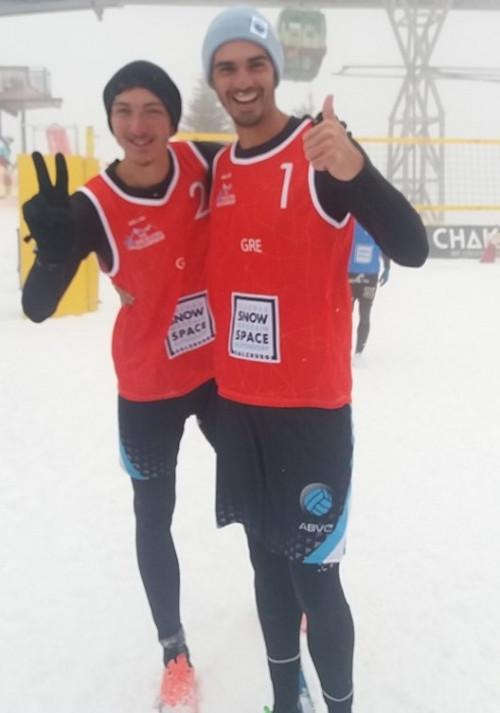 Snow Volley: Iστορική νίκη για Κοτσιλιάνο, Ιωαννίδη