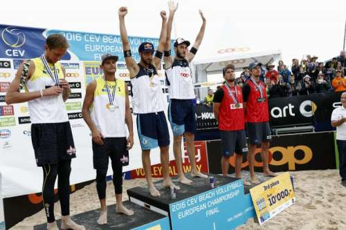 Πρωταθλητές Ευρώπης για δεύτερη φορά οι Ιταλοί Νικολάι, Λούπο
