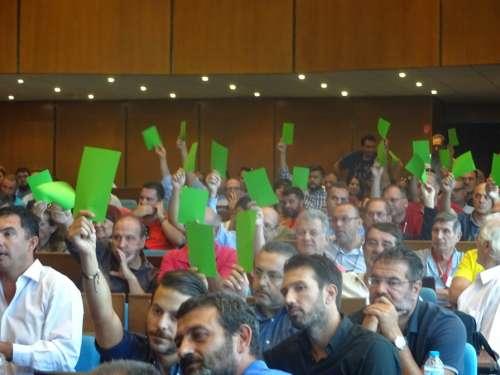 ΕΚΛΟΓΕΣ 2016: Πρώτος ο Καραμπέτσος με 146 ψήφους-Ουδείς εκλέγεται